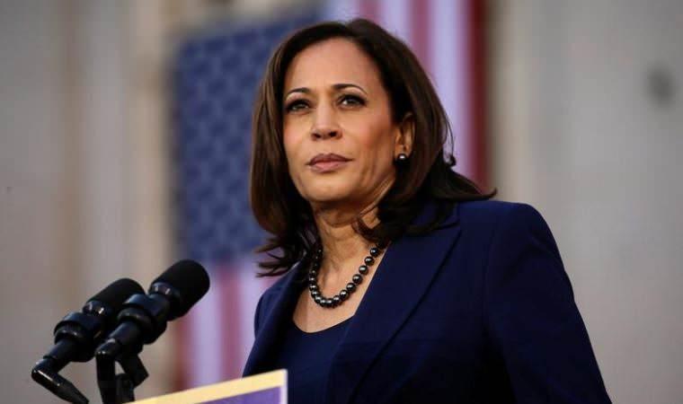ABD başkan yardımcısı Kamala Harris