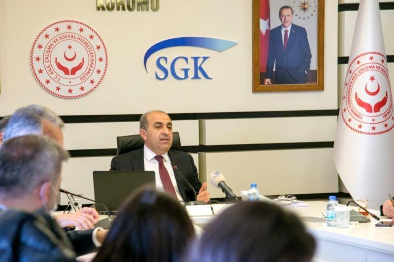 Sosyal Güvenlik Kurumu Başkanı İsmail Yılmaz