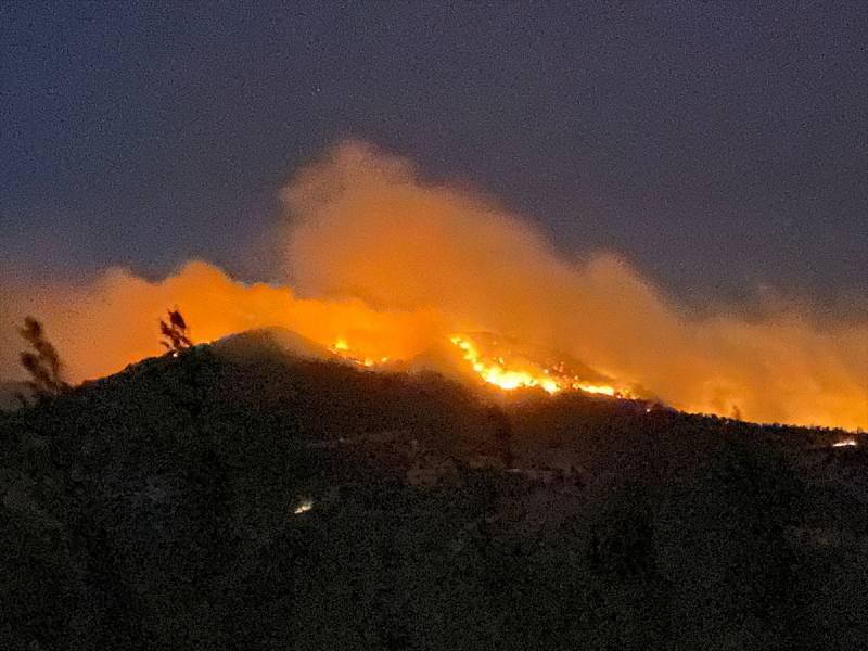 Gazipaşa'daki yangın 4 farklı noktada başladı.