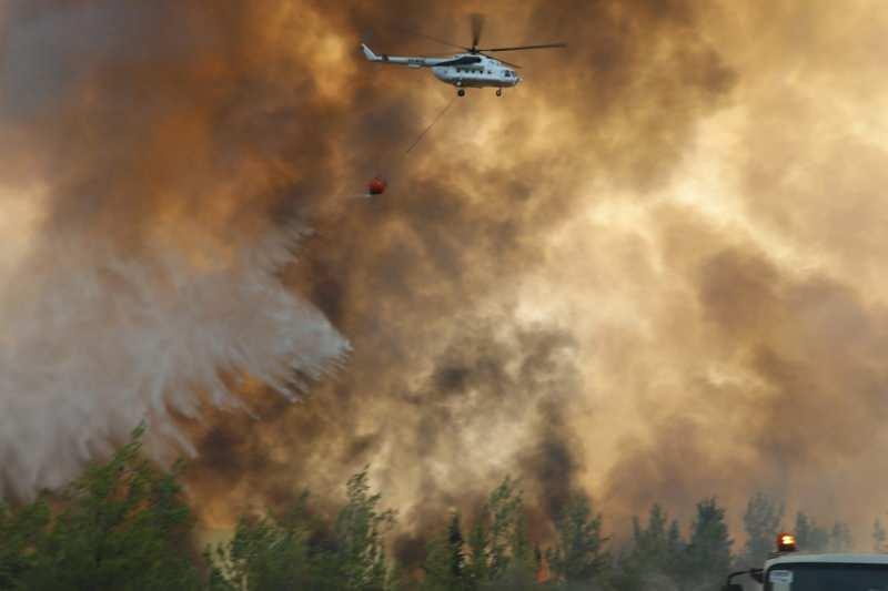 Yangın söndürme çalışmaları aralıksız devam ediyor.
