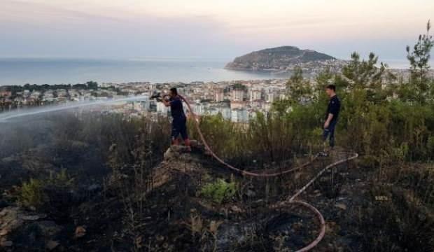 Son dakika: Alanya'yı küle çevireceklerdi! Ateşe verip kaçtılar