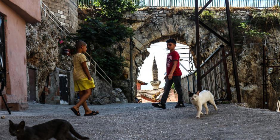 Hoşgörü kentinin tarihi su kemerleri