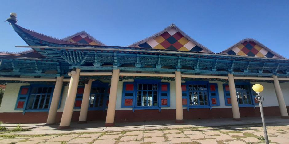 Kırgızistan'ın tarihi çivisiz camisi