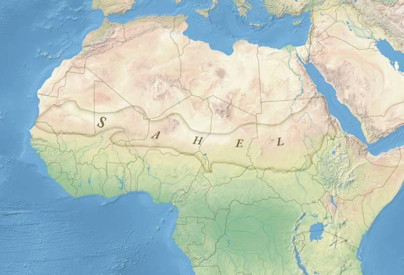Afrika'daki SAHEL Bölgesi
