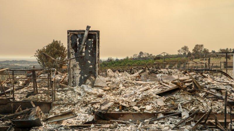 Manavgat'taki büyük yangın 7'nci gününde