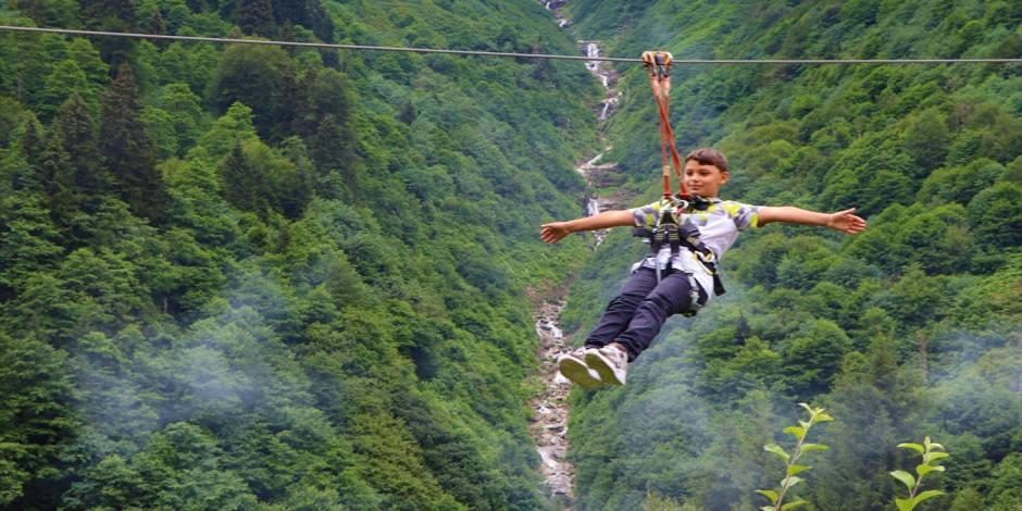 Ayder'de adrenalin dolu bir tatil!