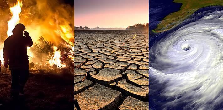 Dünyada son zamanlarda seller, taşkınlar, fırtınalar, ani yağışlar ve sıcaklık yükselmesi gibi extrem doğa olayları arttı
