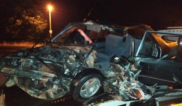 Samsun'da korkunç kaza! 4 yaralı