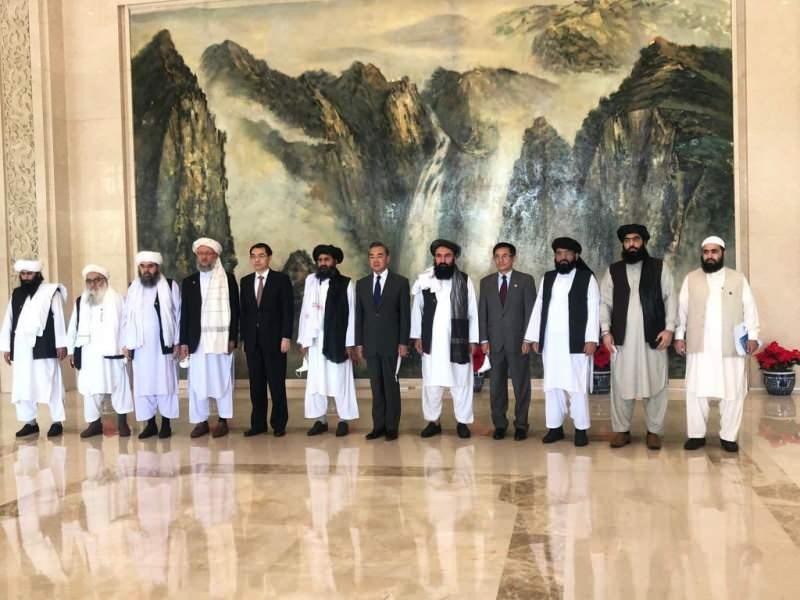 Çin Dışişleri Bakanı Vang Yi ve Molla Abdulgani Birader liderliğindeki Taliban heyeti