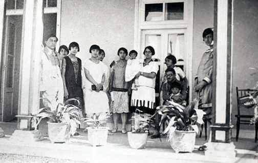 1927'de Afgan Kraliyet ailesi mensupları…