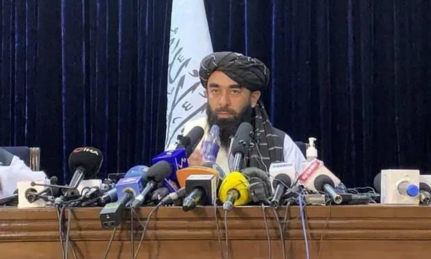 Taliban Sözcüsü Zebihullah Mücahid