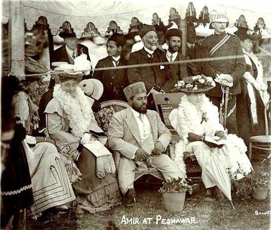 Habibullah Han, 1905'de Peşaver'de.