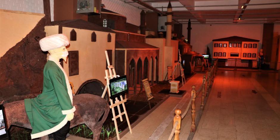 Tarihi mekanlar Çikolata Müzesi'nde canlanıyor