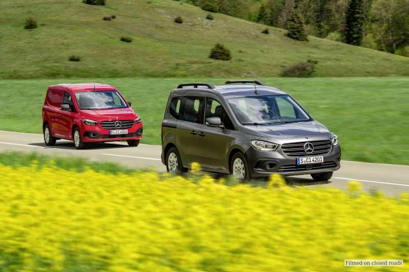 Yeni Mercedes-Benz Citan ve eCitan tanıtıldı