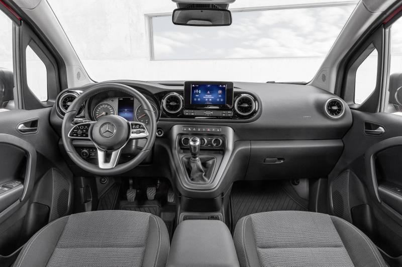 Mercedes-Benz Citan_Kokpit