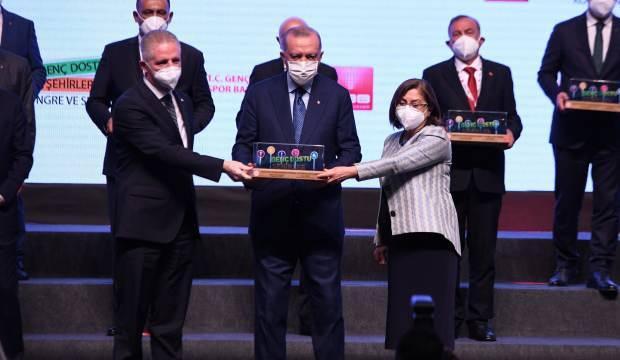 """Gaziantep'in """"Yazılım Köyü"""" projesine Cumhurbaşkanı Erdoğan'dan ödül"""