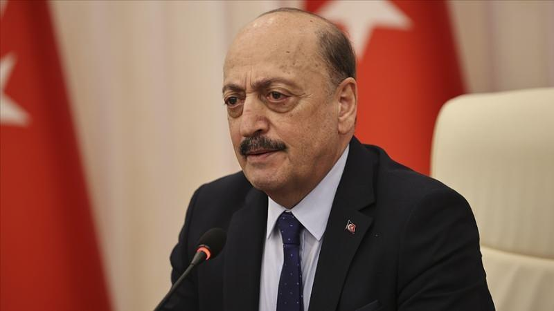 Çalışma ve Sosyal Güvenlik Bakanı Vedat Bilgin.