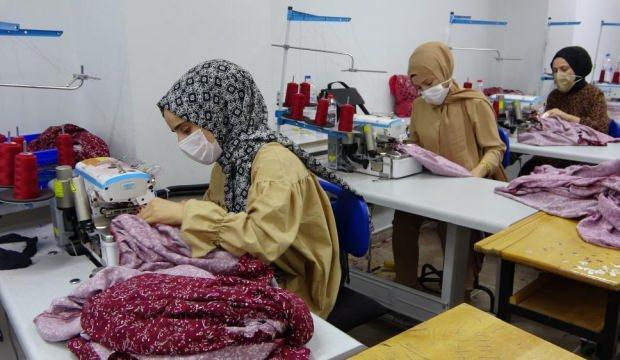 Muşlu kadın girişimci devlet desteği ile 50 kişiye ekmek kapısı oldu