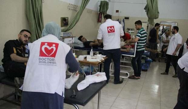 Yeryüzü Doktorları, Gazze'de evlerde tedaviye gidiyor
