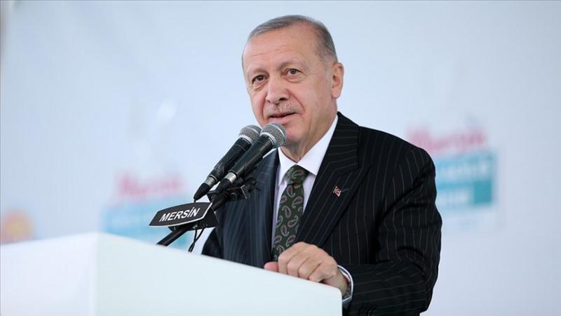 Cumhurbaşkanı Recep Tayyip Erdoğan, Mersin Cumhuriyet Meydanı'nda toplu açılış töreninde konuştu.