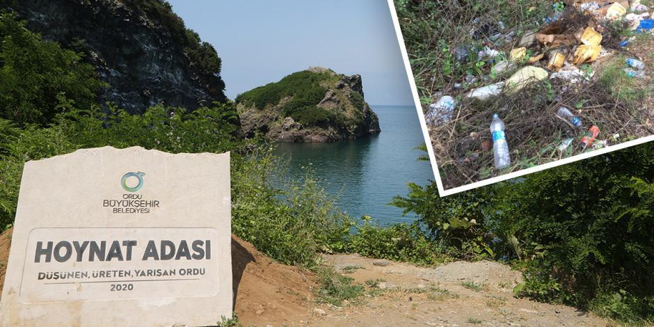 Doğa harikası ada çöpten arındırıldı: Görenler hayran kaldı