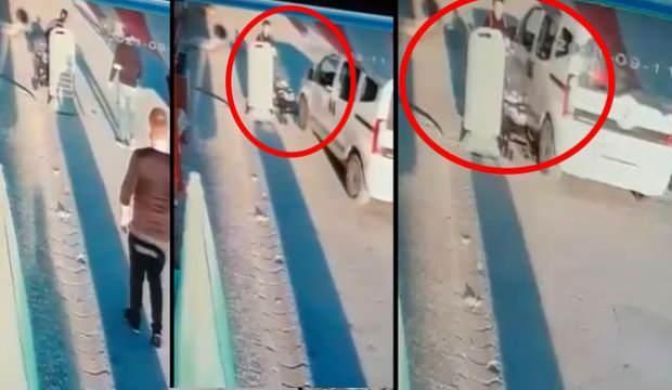 Eskişehir'de anne ve 6 aylık bebeği ölümden böyle kurtuldu