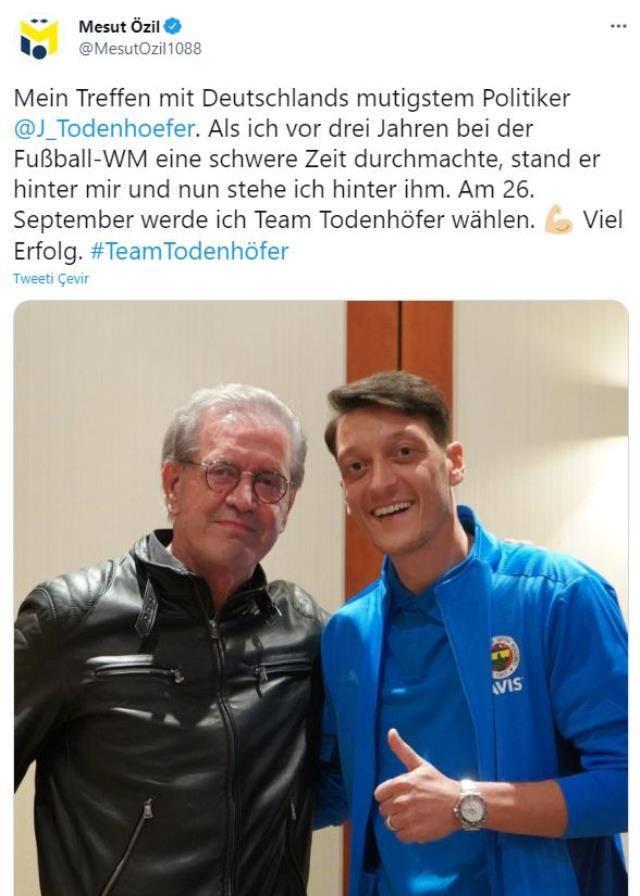 Mesut Özil oy vereceği partiyi açıkça ilan etti! - Tüm Spor Haber