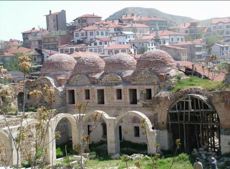Beypazarı Suluhan - Nasuh Paşa Hanı eski hali