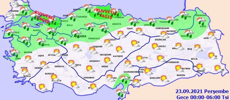 İstanbul dahil 21 il için sarı kodlu uyarı!