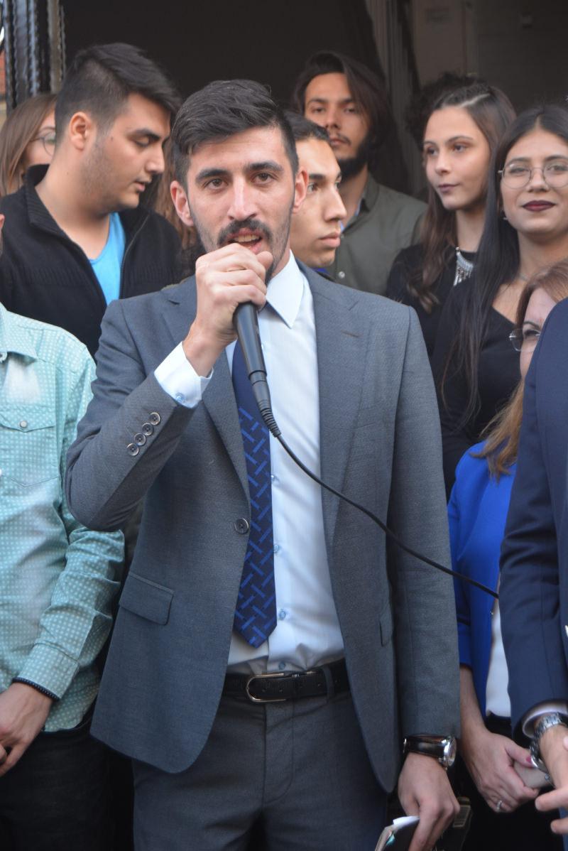 CHP Denizli Gençlik Kolları Başkanı Tugay Odabaşıoğlu