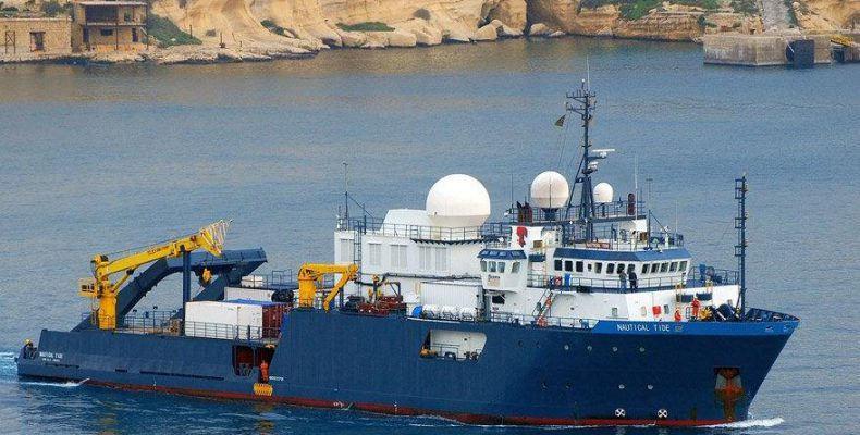 """""""Nautical Geo"""" araştırma gemisi"""