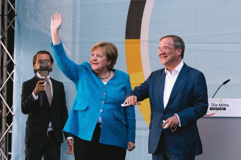 MERKEL'İN PARTİSİ CDU'NUN LİDERİ ARMIN LASCHET