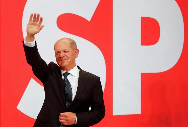 SPD'NİN LİDERİ OLAF SCHOLZ
