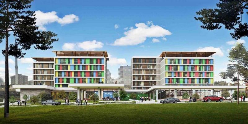 İBB Bağcılar Yenimahalle Gençlik Merkezi Projesi bittiğinde böyle görünecekti.