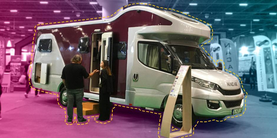 Bu karavan özel olarak tasarlandı! Fiyatı tam 1 milyon lira