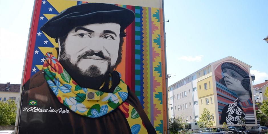 Bosna, dünyanın en etkileyici duvar resimleri listesinde