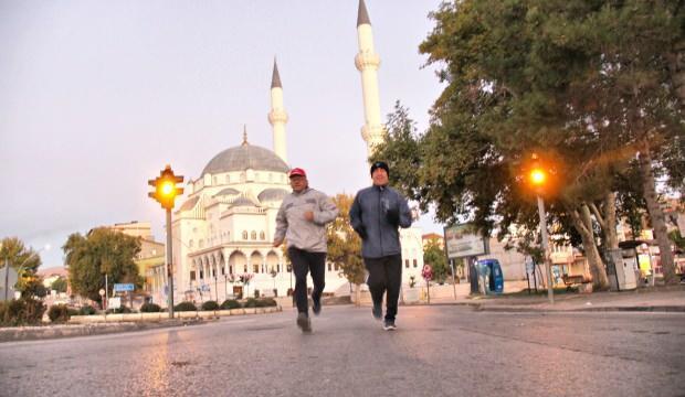 Kahramanmaraş'ta maratoncu arkadaşlar 10 yıldır koşuyor