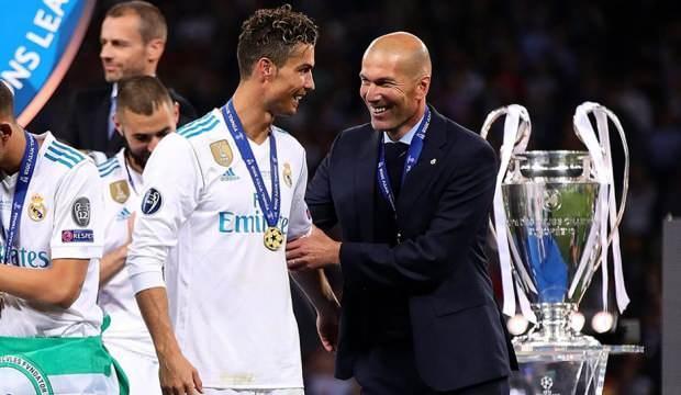 Ronaldo'dan ManU'ya Zidane önerisi