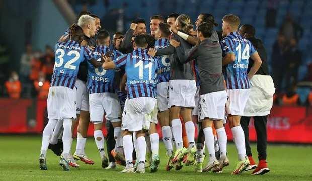 Trabzonspor rekorla zirveye yükseldi!