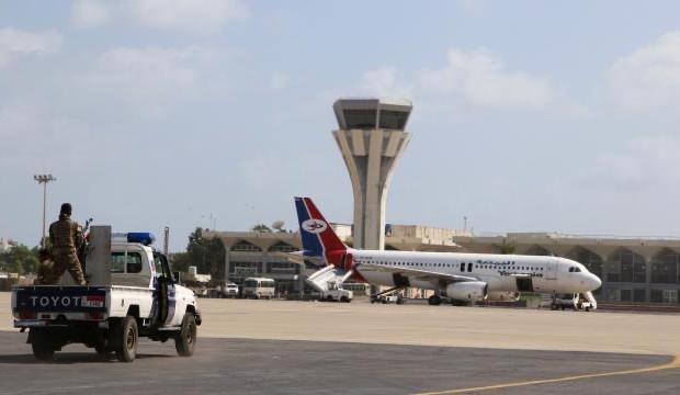 Aden Havalimanı yeniden faaliyete geçti