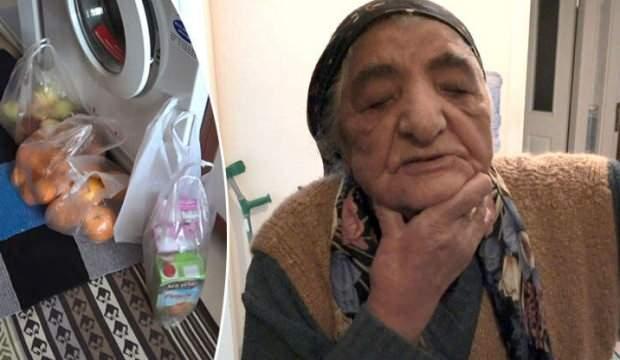 Belediye çalışanı diye 95 yaşındaki kadını gasp ettiler