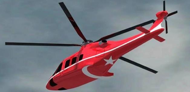 Yerli helikopterin ilk görüntüleri