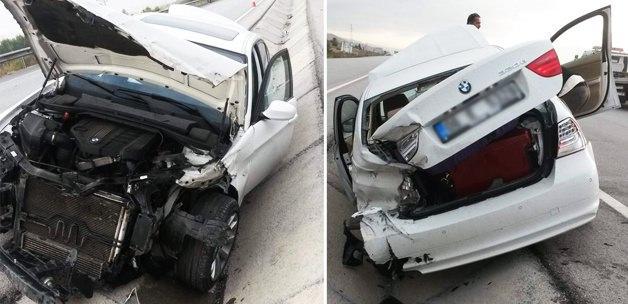 Ünlü hoca trafik kazası geçirdi!