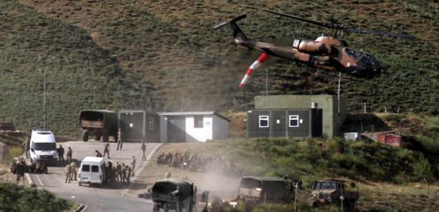 Ağrı'da PKK askerlere ateş açtı: 4 yaralı