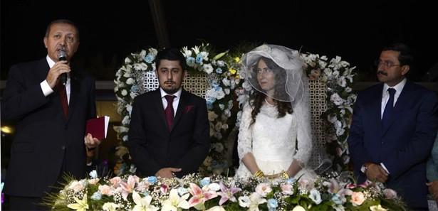 Başbakan Erdoğan, nikah şahitliği yaptı