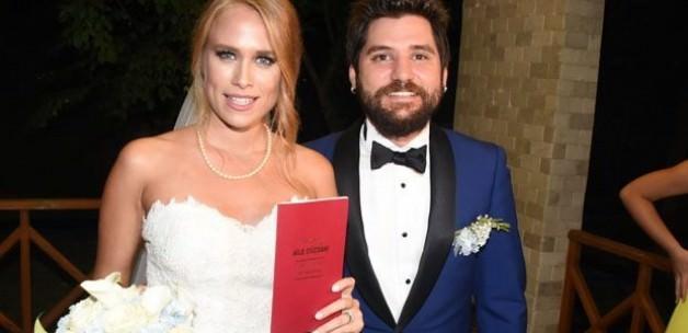 Ceyhun Fersoy ile Begüm Öner evlendi