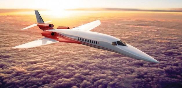 Dünyanın ilk süper jeti! 930 km hızı aşacak