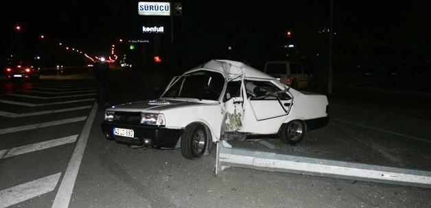 Ehliyetsiz sürücü kazada öldü
