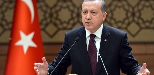 Erdoğan'dan o eleştirilere cevap: Ben tarafım!
