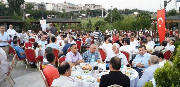 İstanbul'daki Kumrulular iftarda buluştu